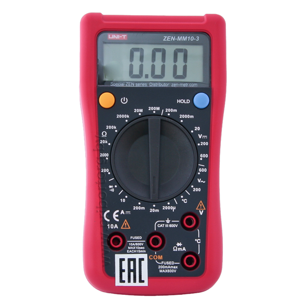 Мультиметр цифровой портативный ZEN-MM10-3