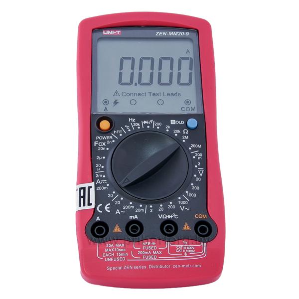Мультиметр цифровой ZEN-MM20-9