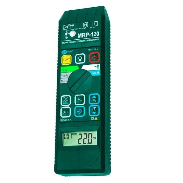 Измеритель параметров УЗО и напряжения прикосновения MRP-120