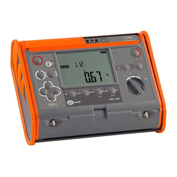 Измеритель параметров цепей электропитания зданий MZC-306