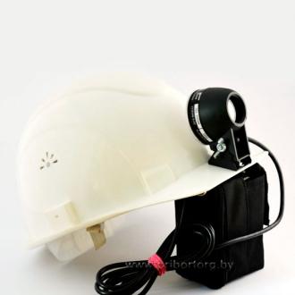 Фонарик аккумуляторный светодиодный «Экотон-18» на каску модели СОМ3-55 «Люкс»