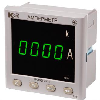 Амперметр цифровой PA195I (серия ОП)