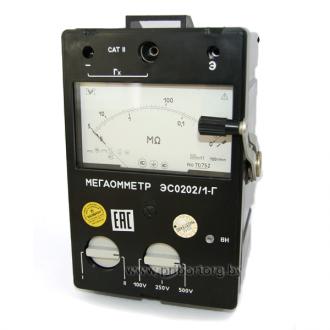 Мегаомметр ЭС0202/1Г