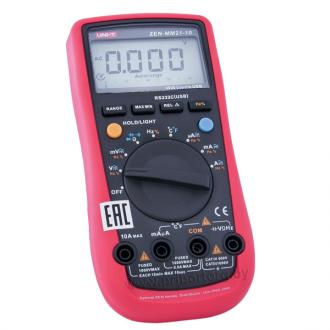 Мультиметр цифровой ZEN-MM21-10