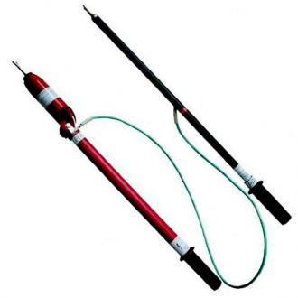 Указатель высокого напряжения со светозвуковой индикацией с трубкой фазировки УВНУ-10 СЗ ИП с ТФ, УВНУ-10 СЗ ИП с ТФ-К