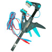 Зажим «струбцина» Кельвина с двухпроводным кабелем
