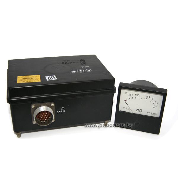 Приборы контроля изоляции Ф4106 (Ф4106А)