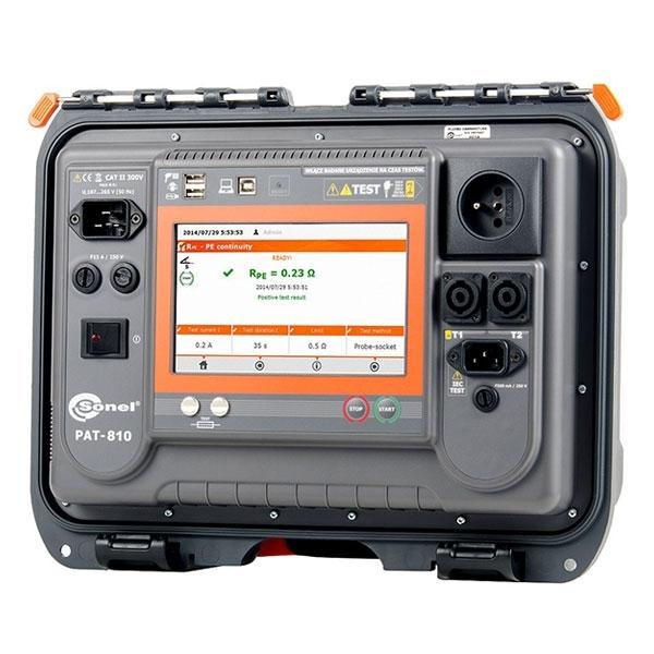 Прибор для проверки безопасности электрооборудования PAT-810