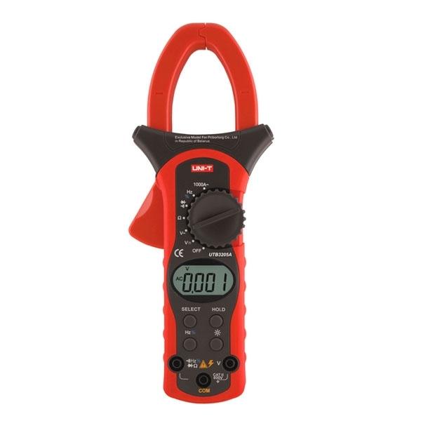 Электроизмерительные цифровые клещи UTB3205A