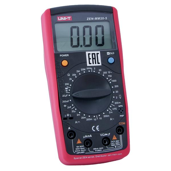 Мультиметр цифровой ZEN-MM20-5