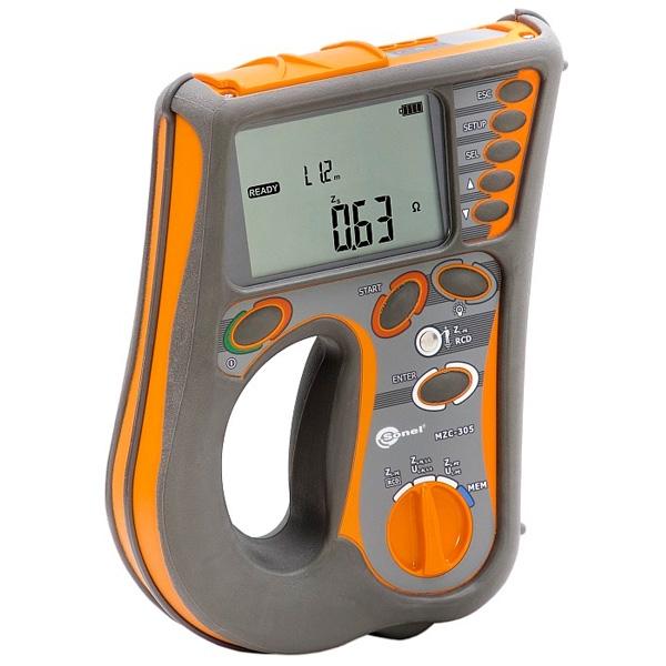 Измеритель параметров цепей электропитания зданий MZC-305