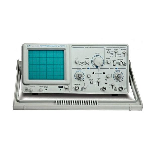 Электронный осциллограф С1-220