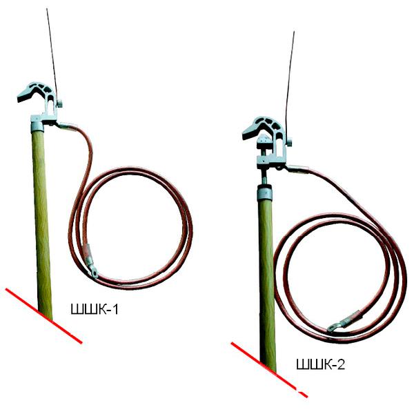 Штанги шунтирующие для электрифицированных железных дорог типа ШШК