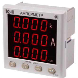 Амперметр цифровой PA194I (серия Т)