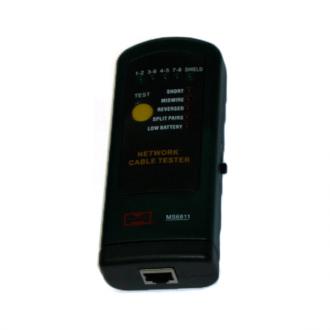 Тестер сетевого кабеля (RJ-45) MS6810