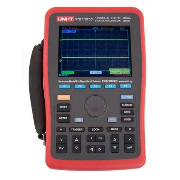 Цифровой портативный осциллограф UTB71025С
