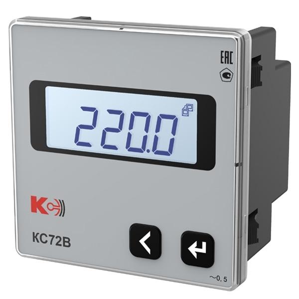 Вольтметр цифровой одноканальный КС72В