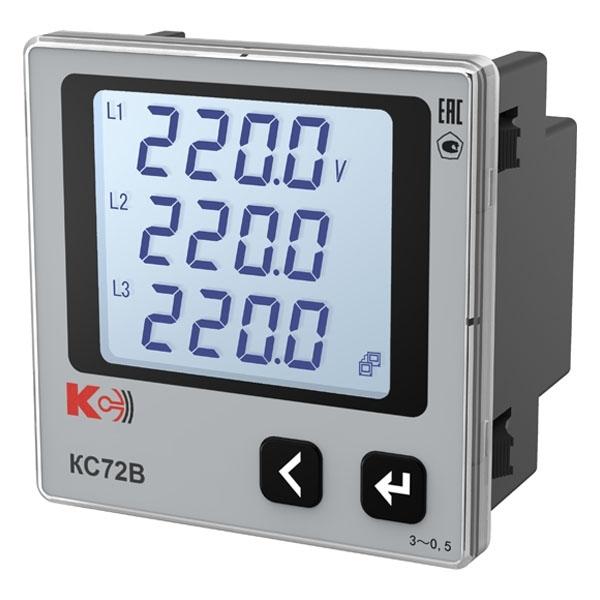 Вольтметр цифровой трехканальный КС72В
