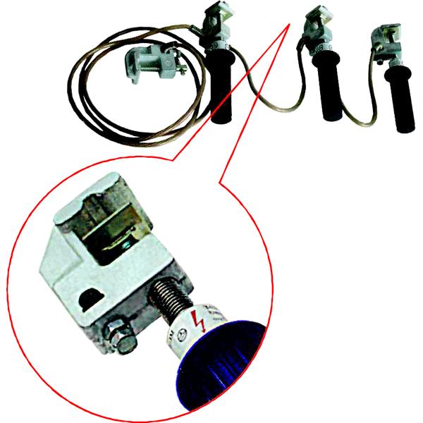 Заземления переносные для распределительных устройств ПЗРУ-1М и ПЗРУ-2М
