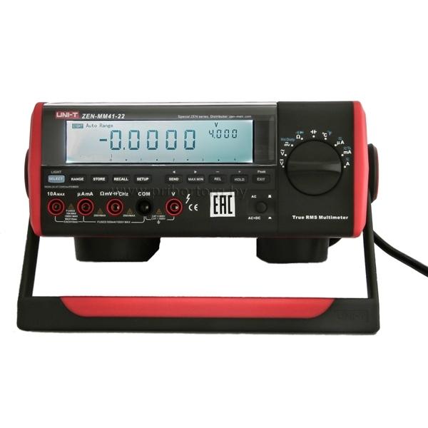 Мультиметр настольный цифровой ZEN-MM41-22